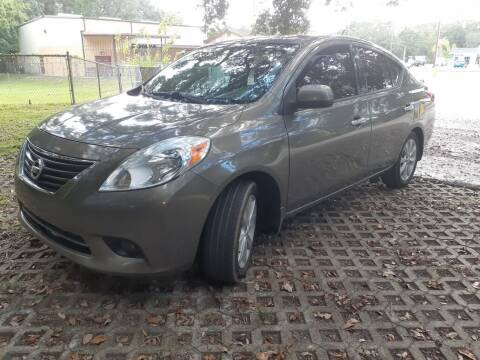 2014 Nissan Versa for sale at Royal Auto Mart in Tampa FL