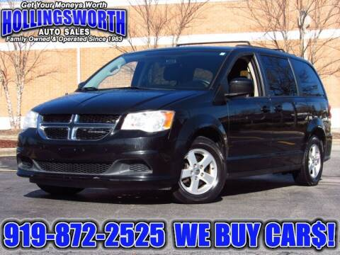 2011 Dodge Grand Caravan for sale at Hollingsworth Auto Sales in Raleigh NC