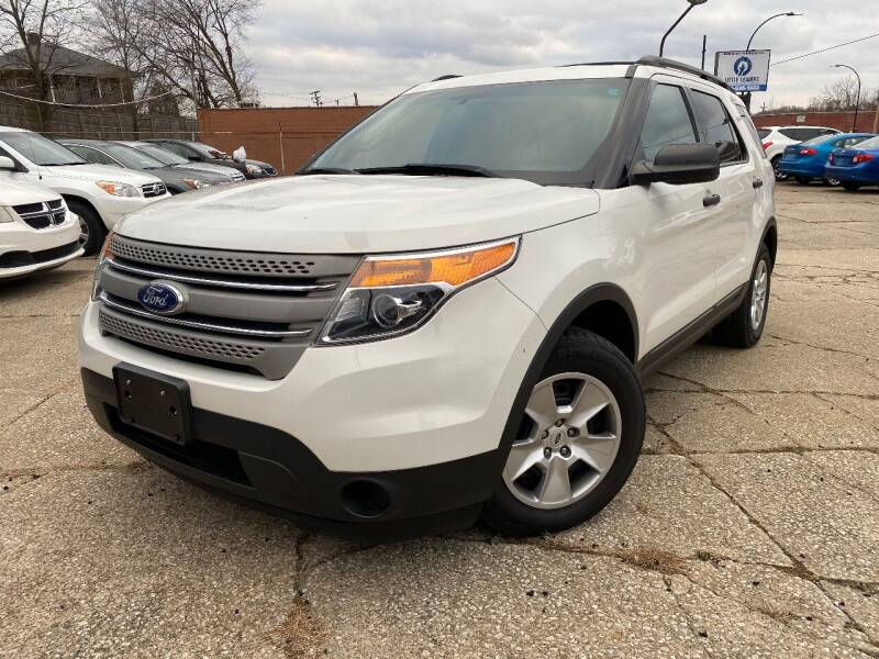 2012 Ford Explorer for sale at STARIA AUTO GROUP LLC in Akron OH