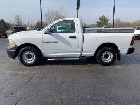 2012 RAM Ram Pickup 1500 for sale at Hawkins Motors Sales in Hillsdale MI