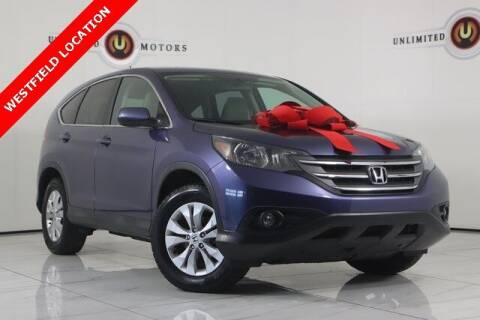 2014 Honda CR-V for sale at INDY'S UNLIMITED MOTORS - UNLIMITED MOTORS in Westfield IN