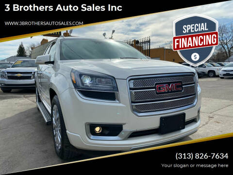 2015 GMC Acadia for sale at 3 Brothers Auto Sales Inc in Detroit MI
