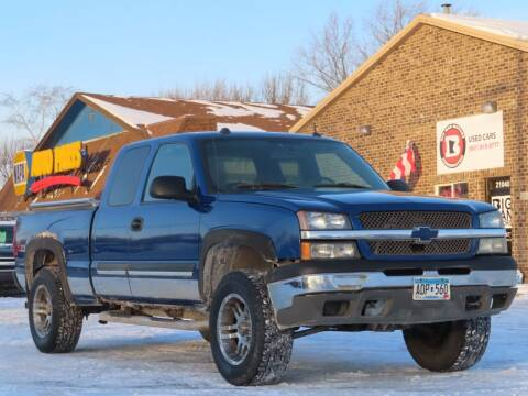 2004 Chevrolet Silverado 1500 for sale at Big Man Motors in Farmington MN