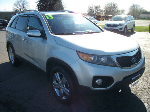 2013 Kia Sorento for sale at USED CAR FACTORY in Janesville WI