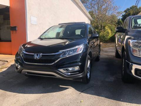 2015 Honda CR-V for sale at Morristown Auto Sales in Morristown TN