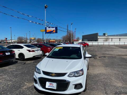 2017 Chevrolet Sonic for sale at BUDGET CAR SALES in Amarillo TX