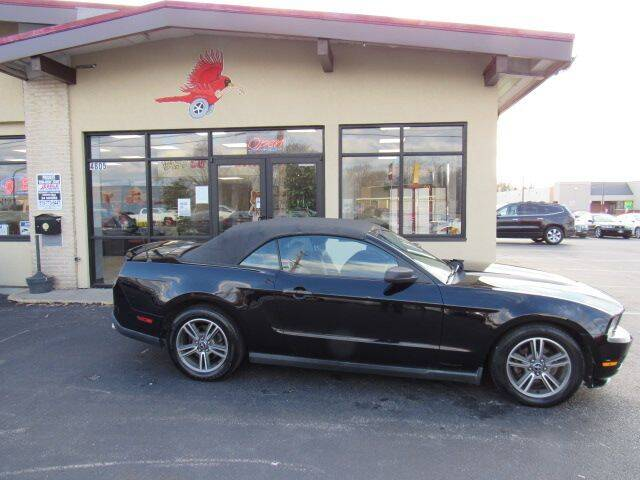 2010 Ford Mustang for sale at Cardinal Motors in Fairfield OH