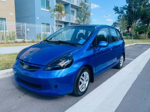 2007 Honda Fit for sale at LA Motors Miami in Miami FL