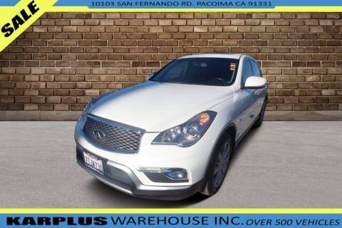 2016 Infiniti QX50 for sale at Karplus Warehouse in Pacoima CA