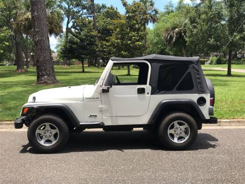 1998 Jeep Wrangler for sale at Import Auto Brokers Inc in Jacksonville FL