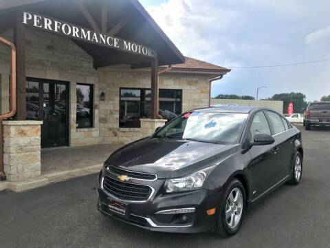 2016 Chevrolet Cruze Limited for sale at Performance Motors Killeen Second Chance in Killeen TX