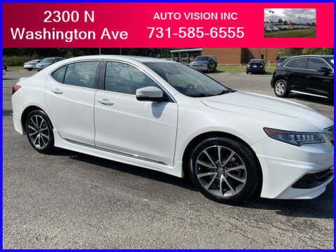 2015 Acura TLX for sale at Auto Vision Inc. in Brownsville TN