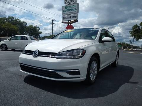 2018 Volkswagen Golf for sale at BAYSIDE AUTOMALL in Lakeland FL