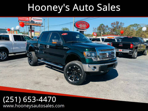 2014 Ford F-150 for sale at Hooney's Auto Sales in Theodore AL