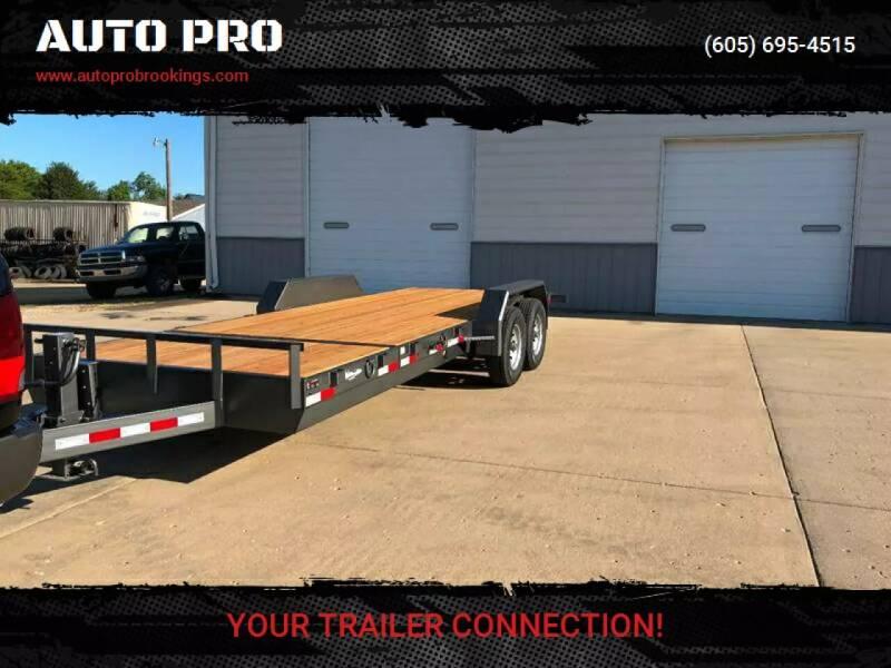 2021 HD TILT TRAILER H&W 4' + 17.5' SPLIT TILT for sale at AUTO PRO in Brookings SD