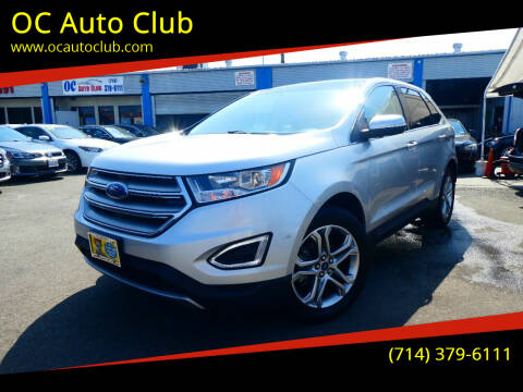 2018 Ford Edge for sale at OC Auto Club in Midway City CA