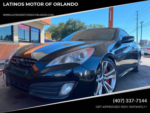2010 Hyundai Genesis Coupe for sale at LATINOS MOTOR OF ORLANDO in Orlando FL
