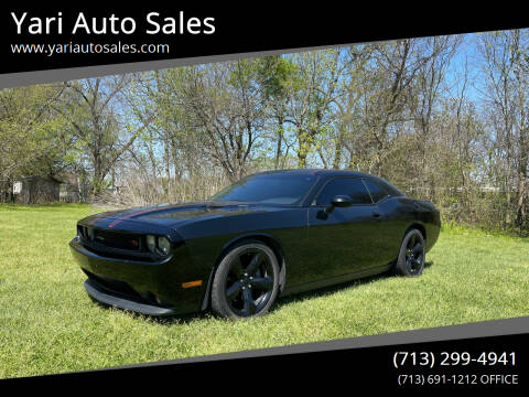 2014 Dodge Challenger for sale at Yari Auto Sales in Houston TX