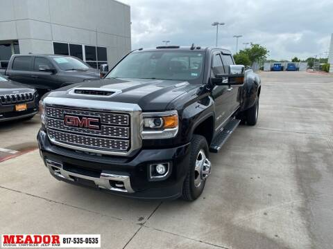2019 GMC Sierra 3500HD for sale at Meador Dodge Chrysler Jeep RAM in Fort Worth TX