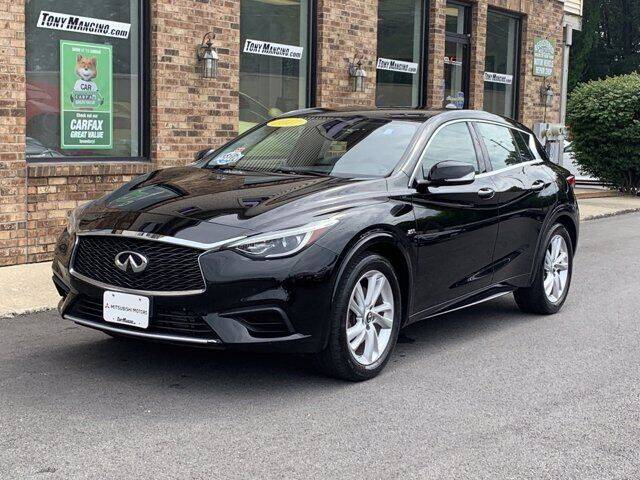 2017 Infiniti QX30 for sale at The King of Credit in Clifton Park NY
