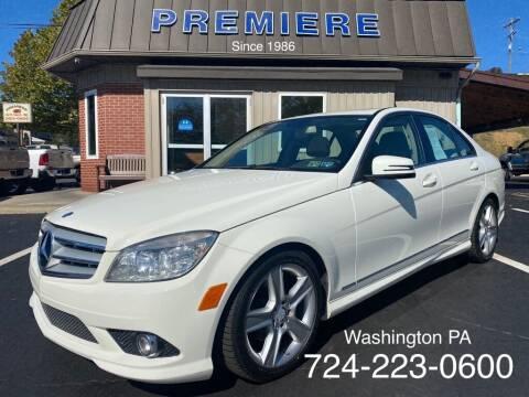 2010 Mercedes-Benz C-Class for sale at Premiere Auto Sales in Washington PA