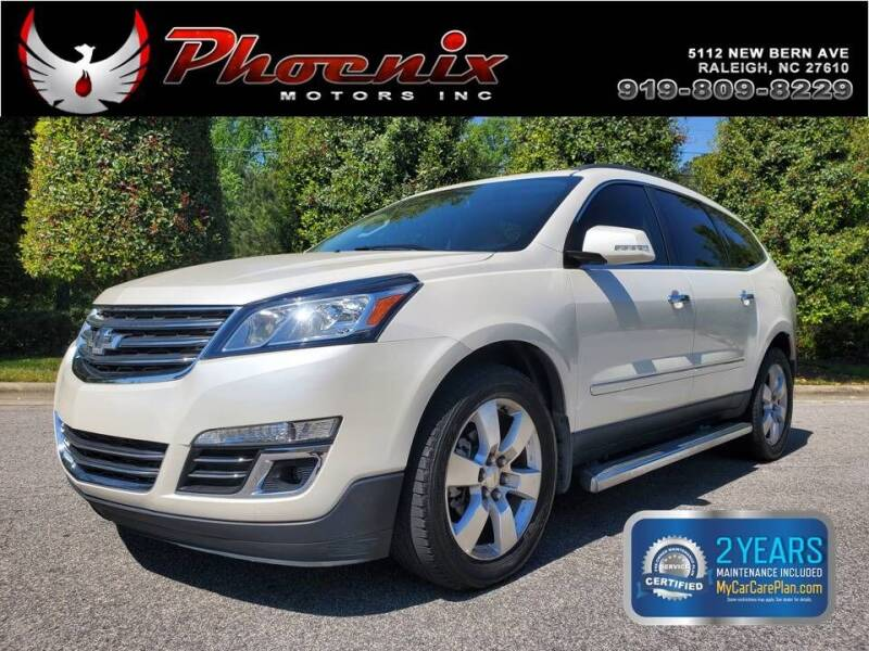 2013 Chevrolet Traverse for sale at Phoenix Motors Inc in Raleigh NC
