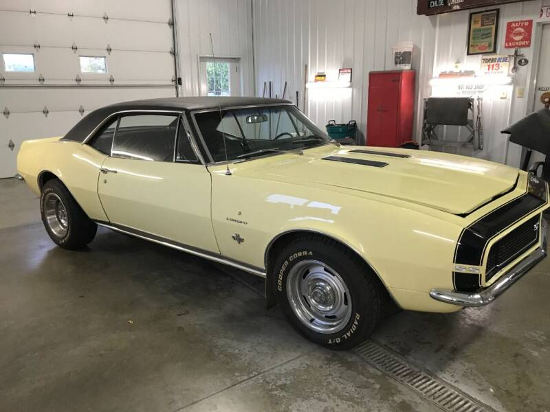 1967 Chevrolet Camaro for sale at Robin's Truck Sales in Gifford IL