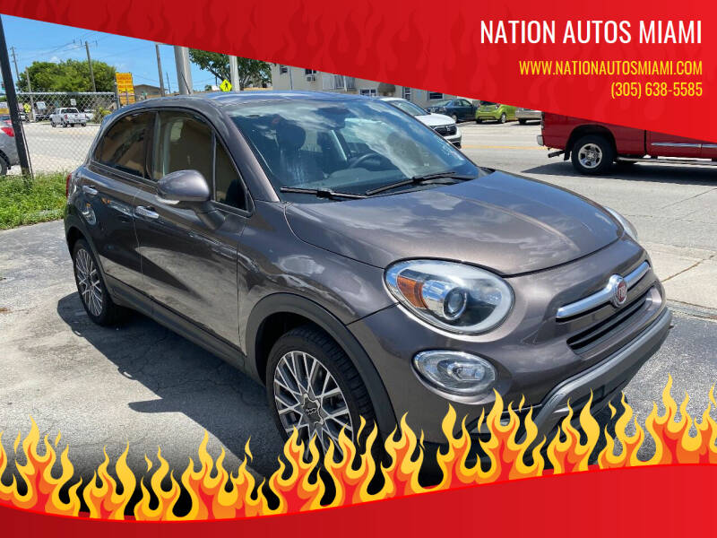 2016 FIAT 500X for sale at Nation Autos Miami in Hialeah FL