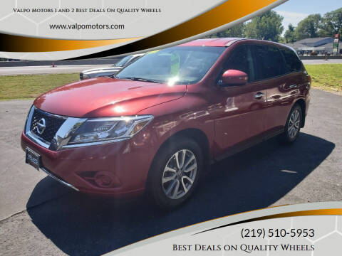 2014 Nissan Pathfinder for sale at Valpo Motors 1 and 2  Best Deals On Quality Wheels in Valparaiso IN