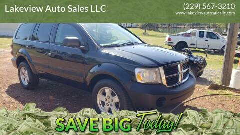 2007 Dodge Durango for sale at Lakeview Auto Sales LLC in Sycamore GA