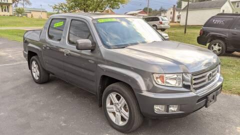 2012 Honda Ridgeline for sale at Kidron Kars INC in Orrville OH