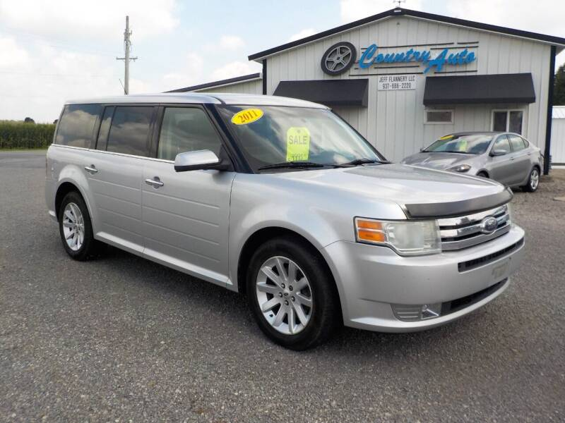 2011 Ford Flex for sale at Country Auto in Huntsville OH