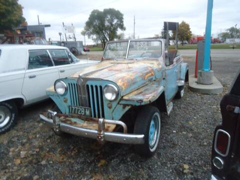1948 Willys Jeepster for sale at Marshall Motors Classics in Jackson Michigan MI