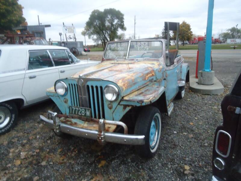 1948 Willys Jeepster for sale at Marshall Motors Classics in Jackson MI