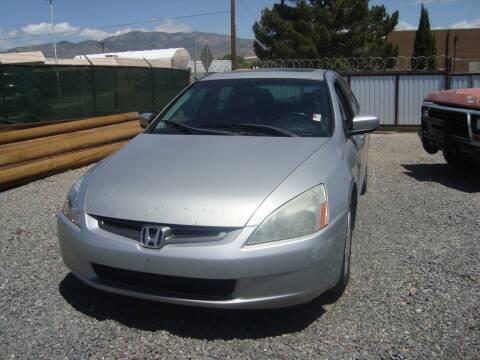 2004 Honda Accord for sale at One Community Auto LLC in Albuquerque NM