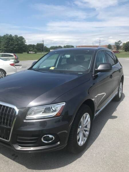 2014 Audi Q5 for sale at PREOWNED CAR STORE in Bunker Hill WV