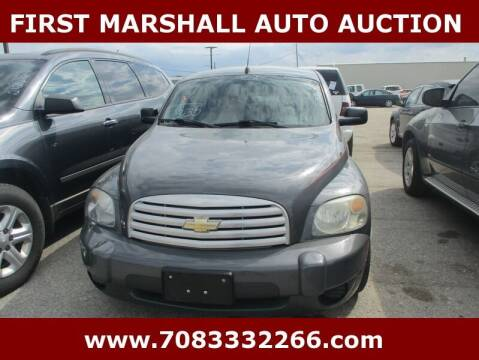 2009 Chevrolet HHR for sale at First Marshall Auto Auction in Harvey IL
