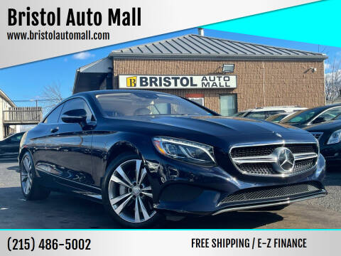 2015 Mercedes-Benz S-Class for sale at Bristol Auto Mall in Levittown PA