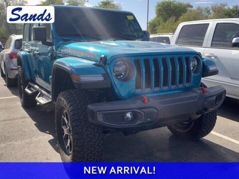 2020 Jeep Wrangler Unlimited for sale at Sands Chevrolet in Surprise AZ