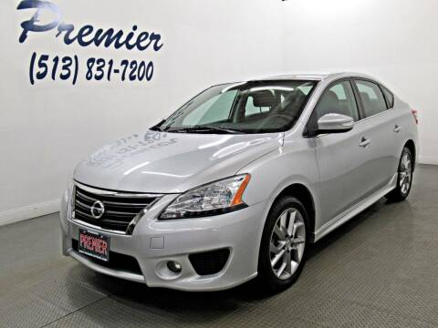 2015 Nissan Sentra for sale at Premier Automotive Group in Milford OH
