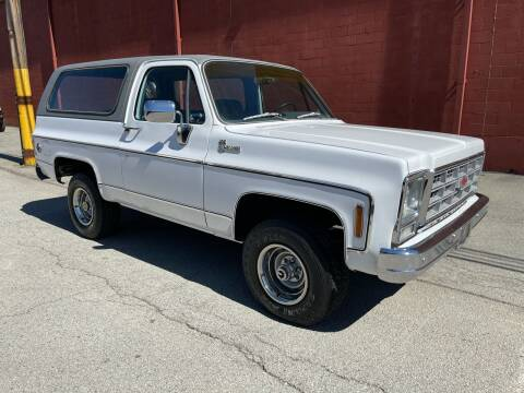 1979 Chevrolet Blazer for sale at ELIZABETH AUTO SALES in Elizabeth PA