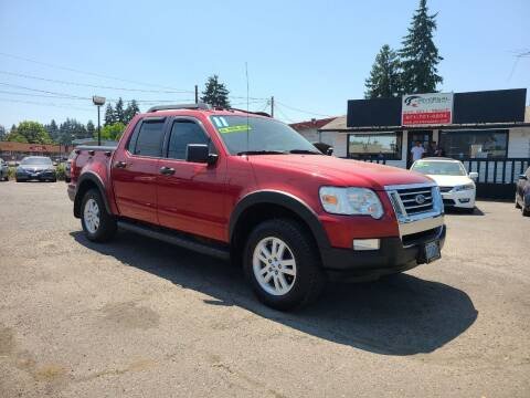 2010 Ford Explorer Sport Trac for sale at Universal Auto Sales in Salem OR