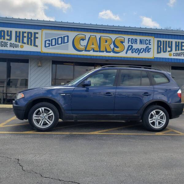 2004 BMW X3 for sale at Good Cars 4 Nice People in Omaha NE