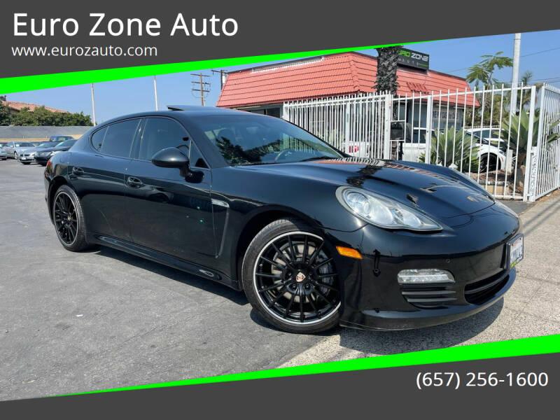 2013 Porsche Panamera for sale at Euro Zone Auto in Stanton CA