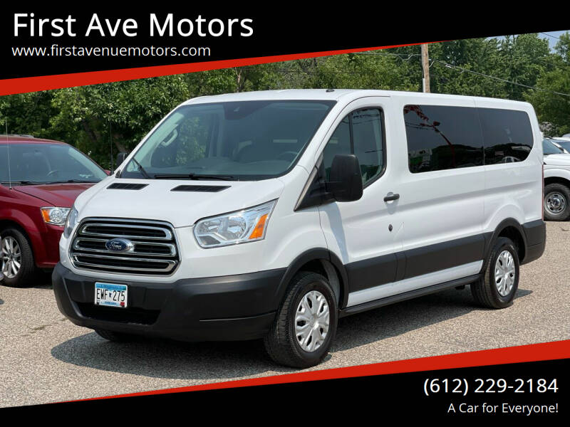2019 Ford Transit Passenger for sale at First Ave Motors in Shakopee MN