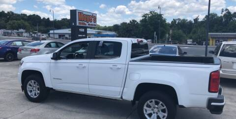 2016 Chevrolet Colorado for sale at Moye's Auto Sales Inc. in Leesburg FL