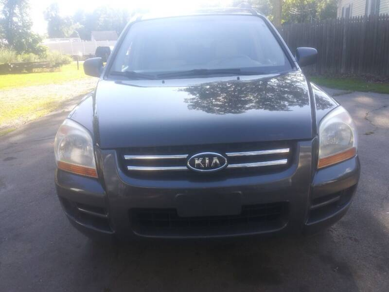 2007 Kia Sportage for sale at Maple Street Auto Sales in Bellingham MA