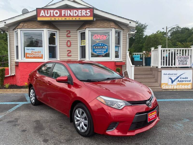 2016 Toyota Corolla for sale at Auto Finders Unlimited LLC in Vineland NJ
