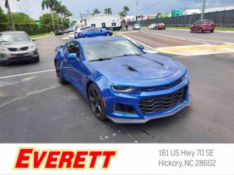2017 Chevrolet Camaro for sale at Everett Chevrolet Buick GMC in Hickory NC