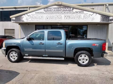 2012 Chevrolet Silverado 1500 for sale at Don Auto World in Houston TX